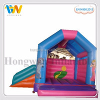 giant inflatable water slide bouncy funny game kids castle bed