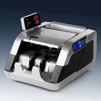 Loose Note Counter suitable for indian Rupee With Counting and Detecting Function Banking Equipment