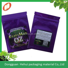 CMYK water barrier small sealable foil seed plastic packets