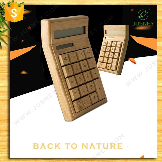 Fancy Bamboo Scientific Calculator with Best Price and High Quality