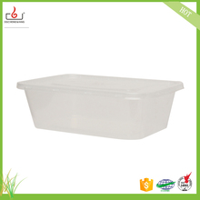 Hot disposable plastic salad soup bowl with lid