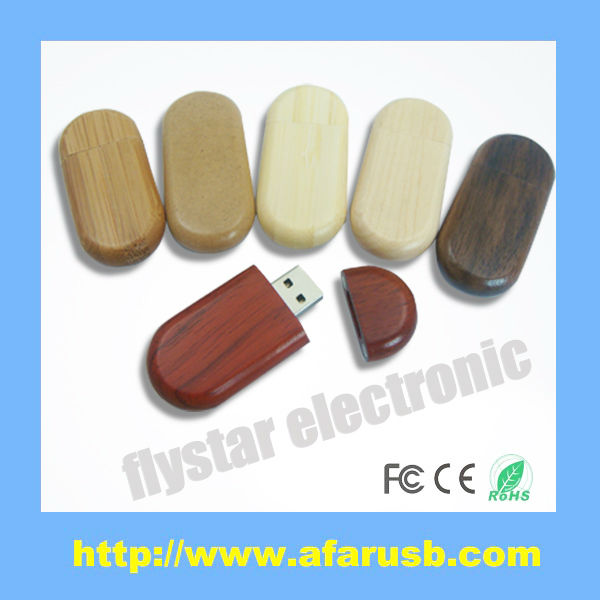 popular customized design wooden usb stick