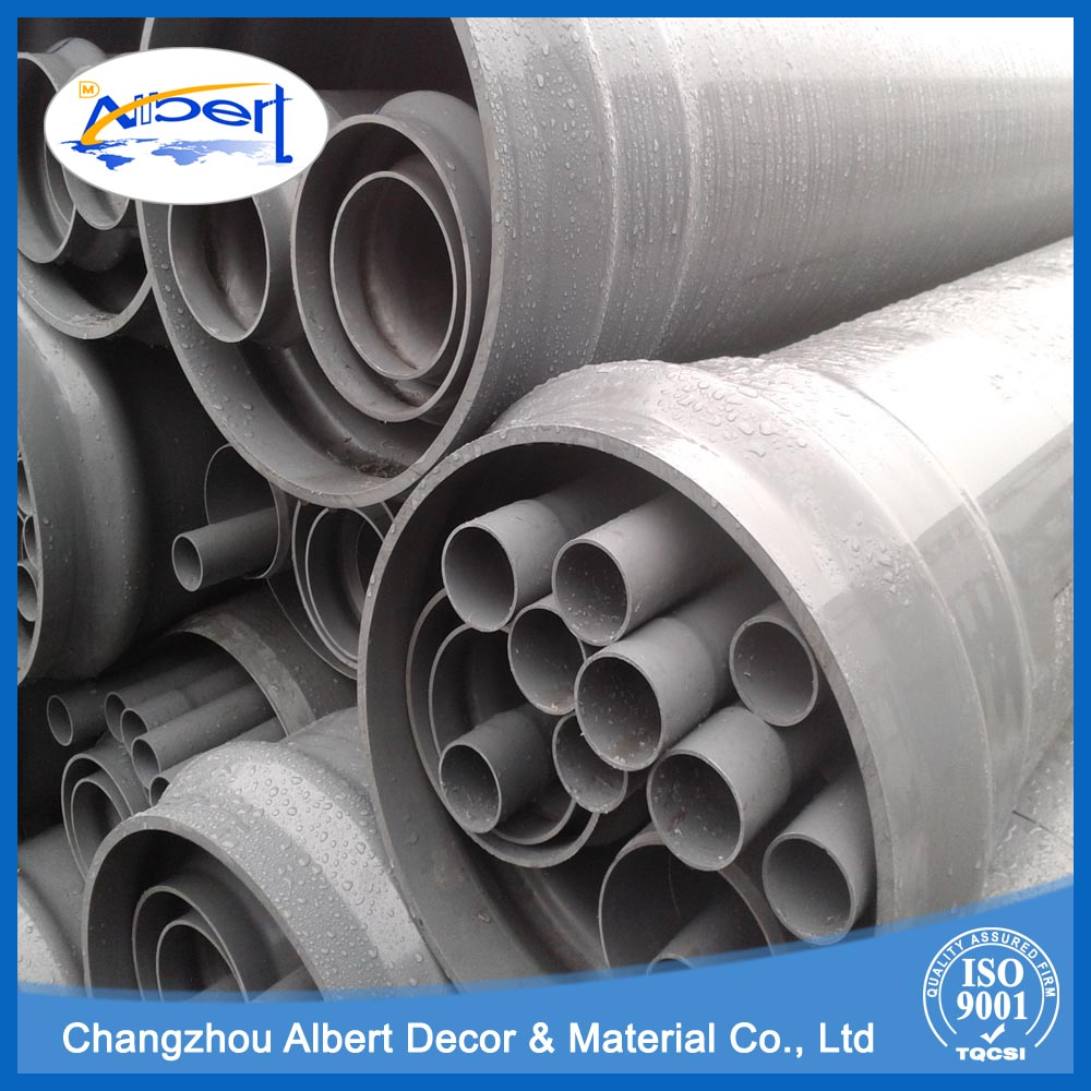 cpvc pprc interconnecting bendable pvc riser pipes