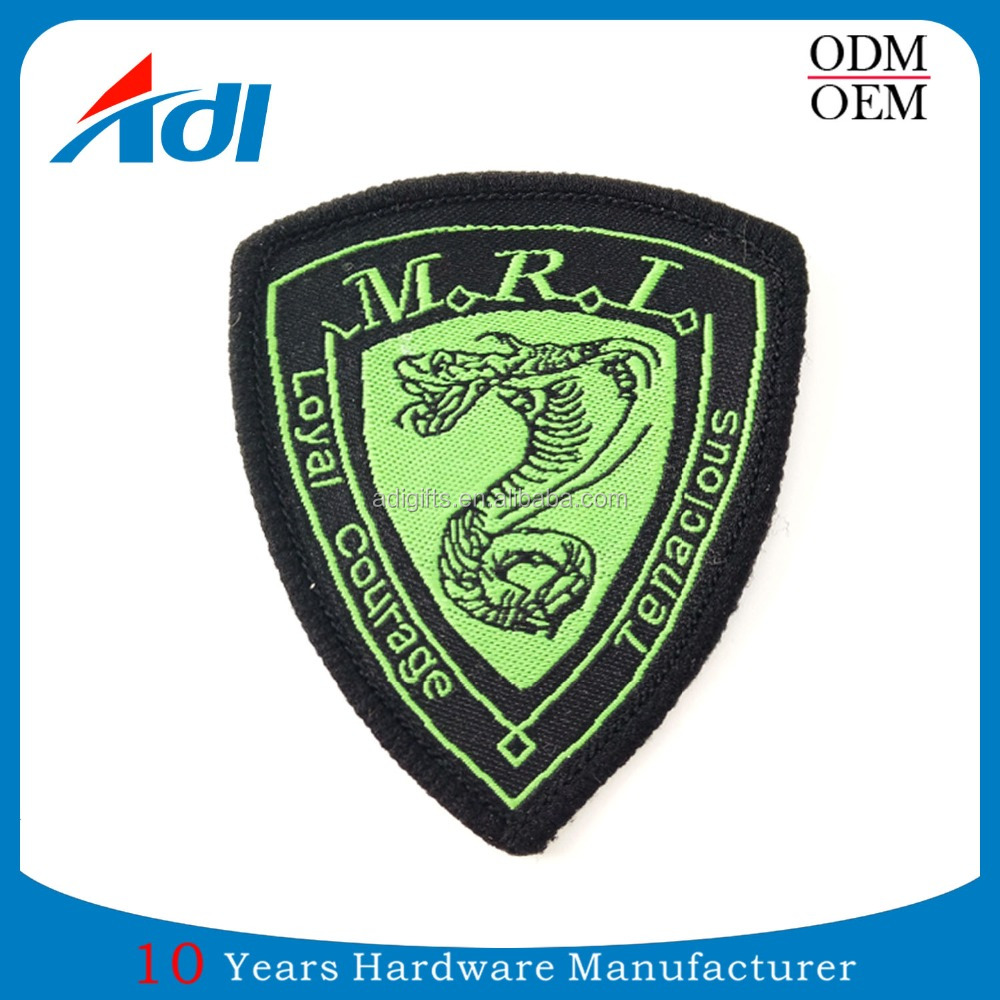High Quality Fashion Design Embroidered Patches