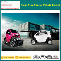 Cool Appearance Double Doors 4 Wheel Mini Electric Cars for Sale