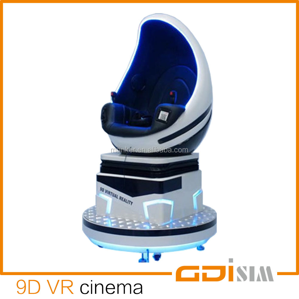 Hot selling arcade equipment virtual reality 9d video games cinema 9d vr