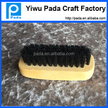 High Quality and Soft Clothes Black Horse Bristles Clothes Brush