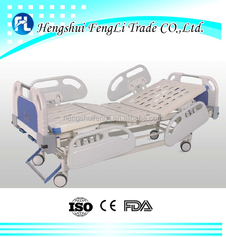Hot hot hot sale in world FLA04-004 three-Function Manual hospital Bed