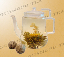 Natural Health hand made Beauty artistic flower marigold blooming tea