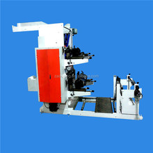 YT-21200 double colors flexographic printing paper roll machine