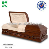 natural polished SGS certified cheap casket lowering device handle