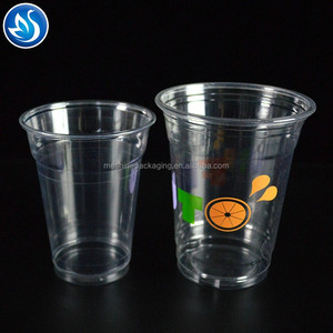 Custom printed disposable pp plastic cup disposable