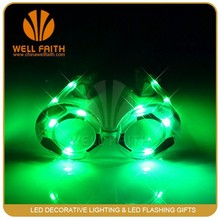 Funny Party Supplies Led football glasses,Glasses for football,Novelty toy glasses
