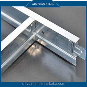 High Quality Ceiling T Grid Supplier Suspension T-Bar