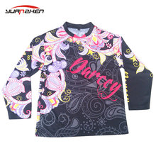 YuanZhen-ISO certificate passed custom top quality fox motorcycle jersey