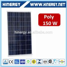 fully certified 150w poly suntech solar panel price 12v 150ah battery 24v 150w poly solar panel