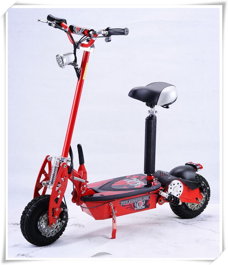 2016 new product 2 wheels foldable 500w 36v electric scooter for fitness and entertainment