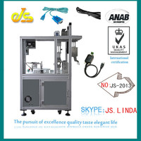 2014 New product JS-2013 Full auto openbox c4s cable receiver twisting tying machine winding binding equipment