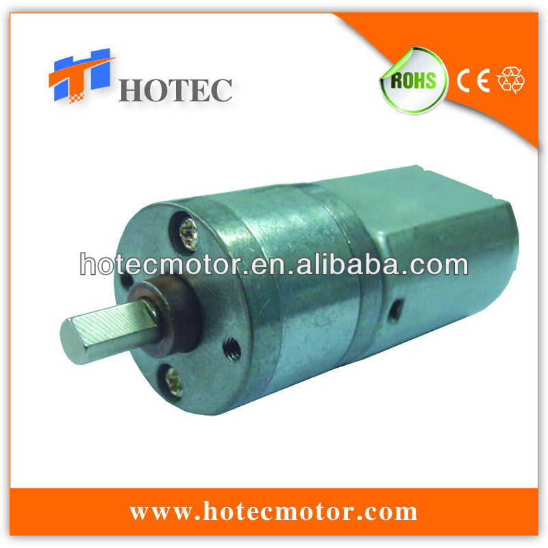China mini low-voltage permanent magnet 12v dc motor