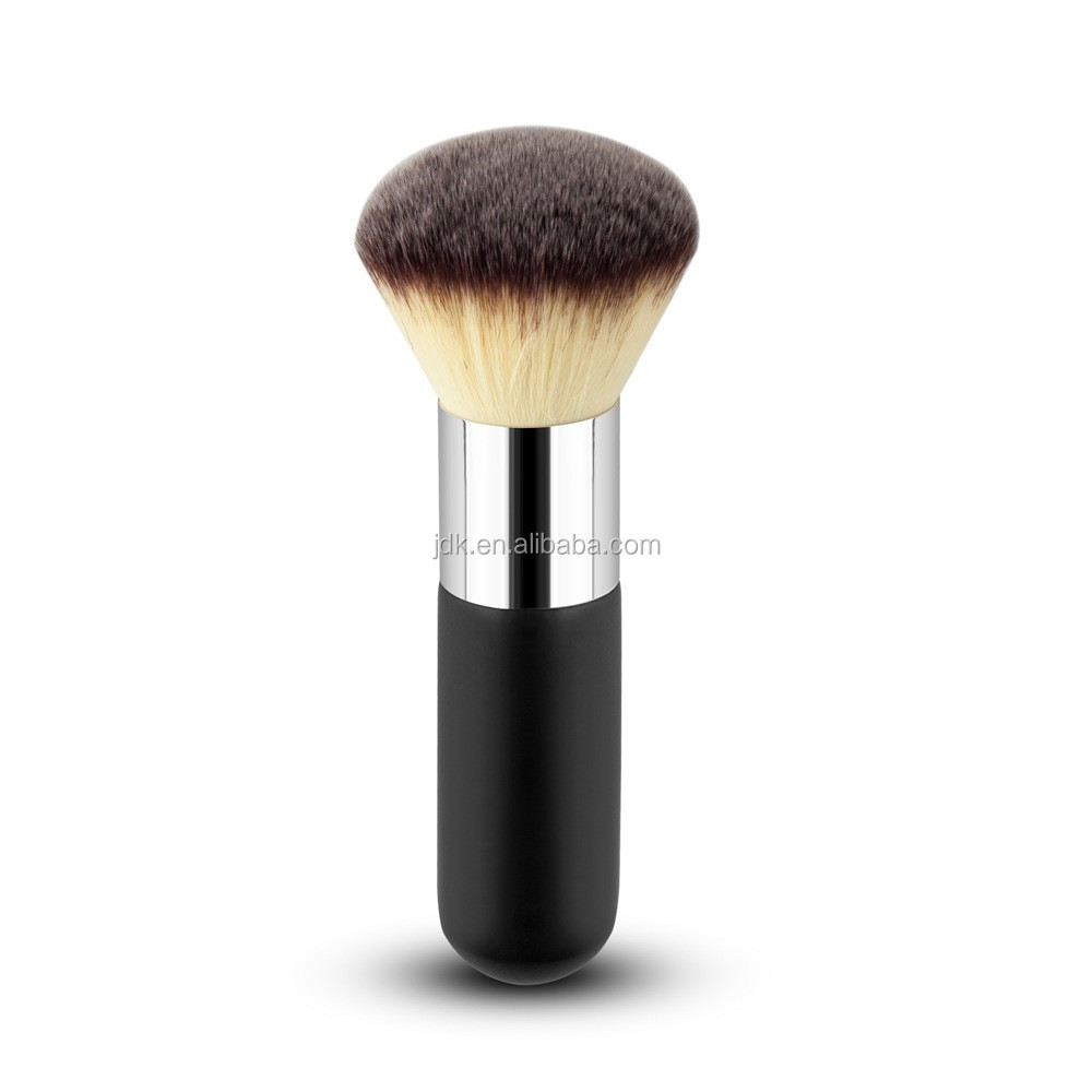 Alibaba Makeup Tools Black Wood Handle Loose Powder Cosmetic Brush