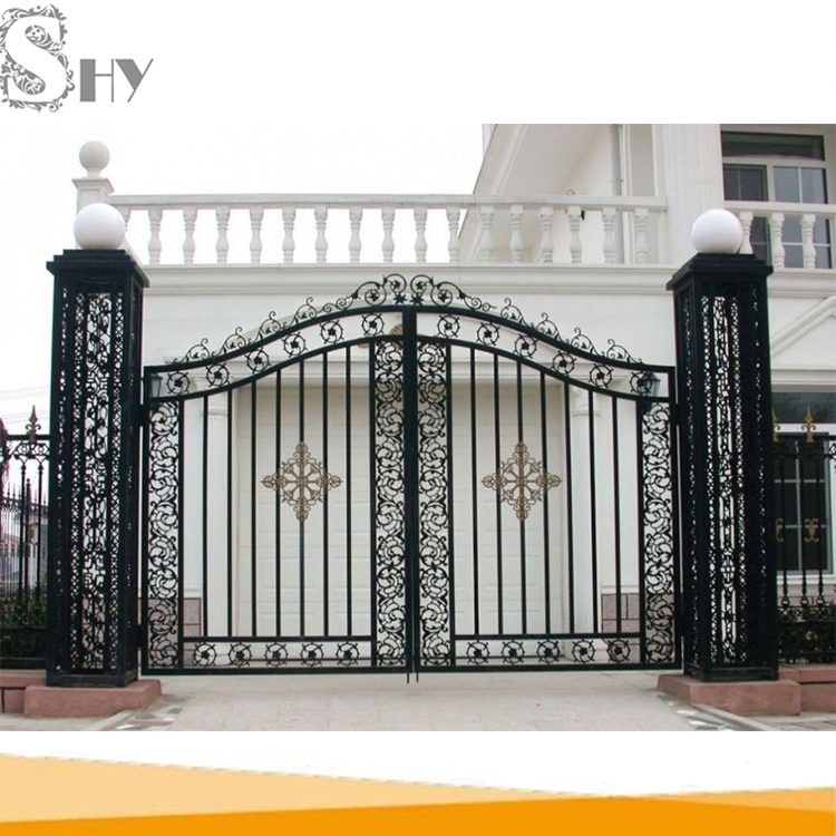 Modern Metal Main Gate Design