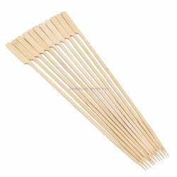 Outdoor Disposable Sticks Gun Shape BBQ Bamboo Skewer For Picnic