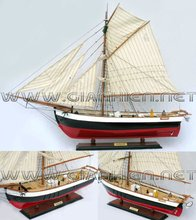 GREENLAND WOODEN HISTORIC SHIP - HANDICRAFT OF VIETNAM