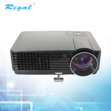2017 Latest LCD 1080p 3d mobile phone android led projector