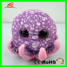 E425 Sublimation Printing Colorful Octopus Stuffed TY Plush Toys