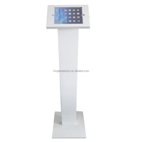 9.7 inch tablet anti-theft locked freestanding ipad kiosk