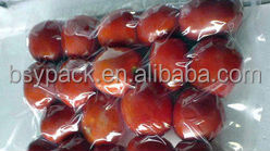 Chinese red dates vacuum, aseptic, and clear plastic packaging bag