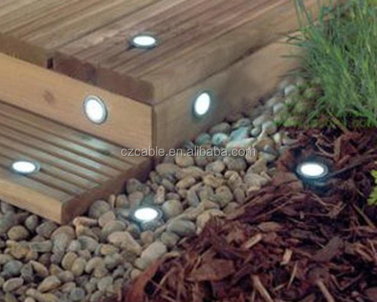 12V 0.2W Outdoor LED underground Floor Buried Light