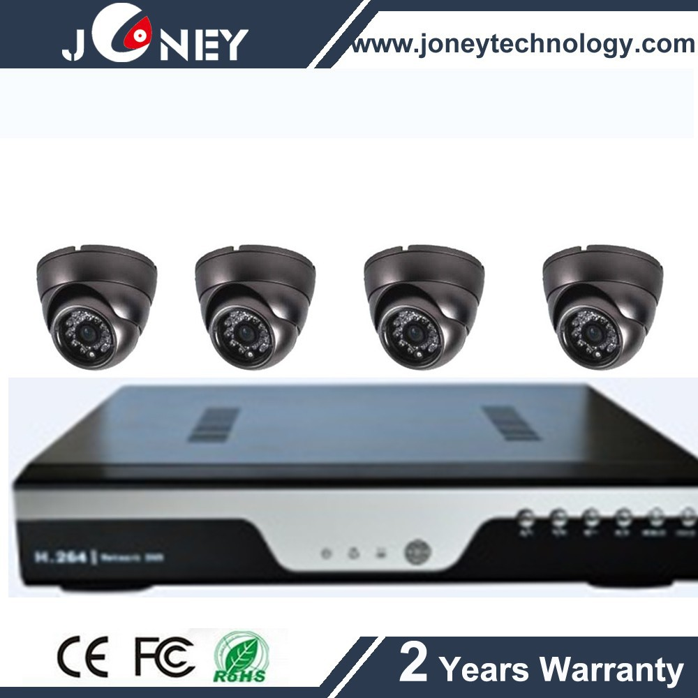 AHD camera kit support 4ch HD AHD DVR security camera(JYD-6095AHD-Kit)