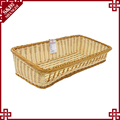 Amazing hollow handwoven bread dessert display easter baskets wholesale