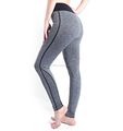 Womens workout sexy seamless capri pant sport yoga pant