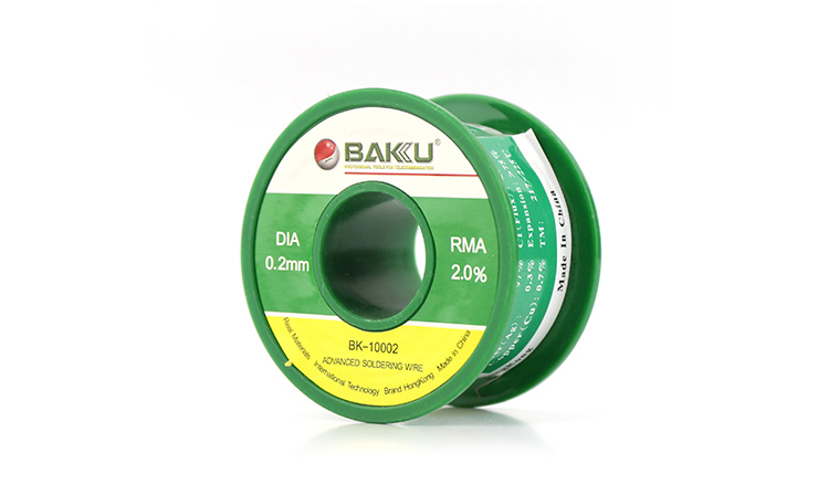 BAKU BK-10002 lead-free pure tin solder electrical wire silver making machine