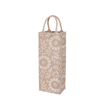 Factory supply jute wine bottle bag/burlap wine bag
