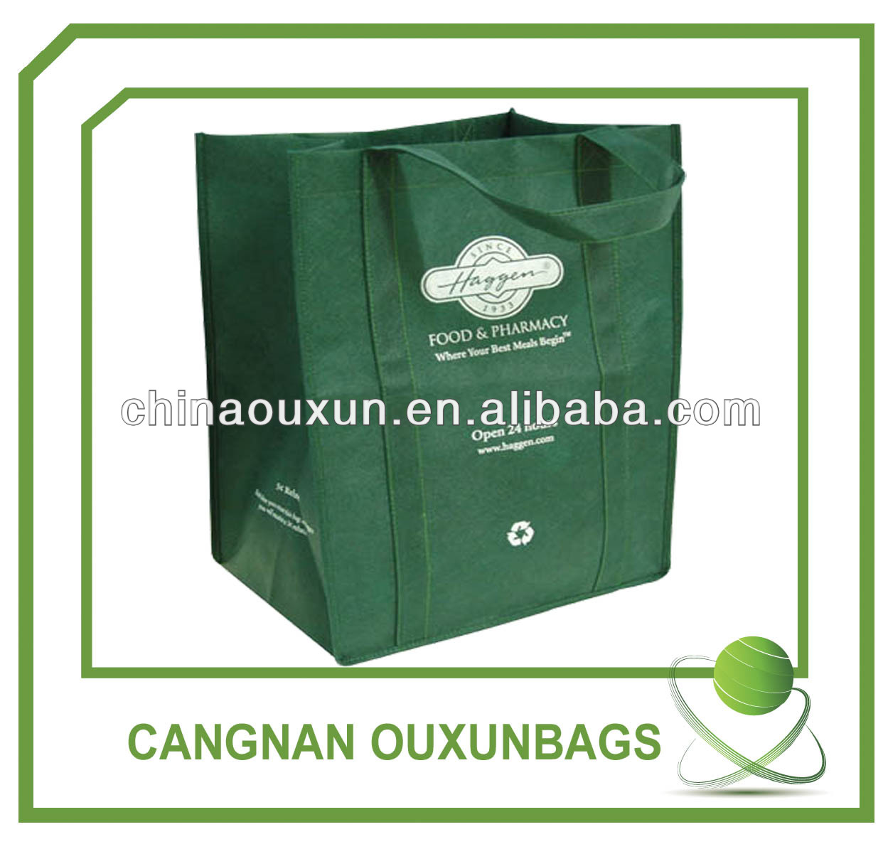 Hottest pp non woven bag for shopping,non-woven bag, nonwoven bag