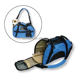 Fashion Portable Pet Carrier With Mat Inside