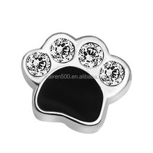 Sale Heart Birthstone Dogs Paw print Love Floating Charms