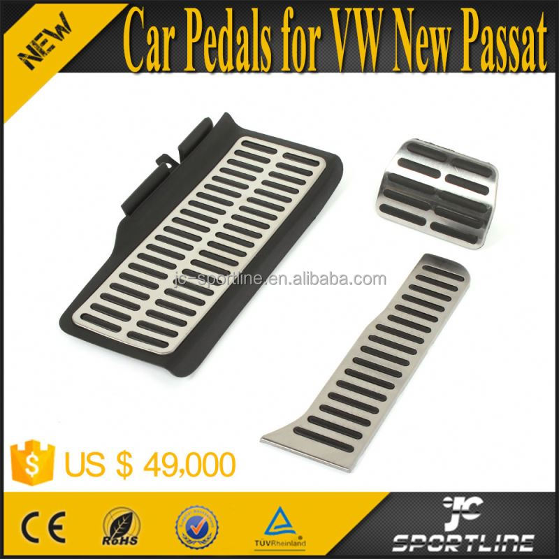 Fuel Brake Jetta MK6 Pedal Pad AT Non-Drilling For VW New Jetta Passat Touran <strong>Beetle</strong>