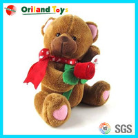 Most Popular High Quality valentine's day bear with rose