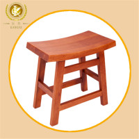 Chinese antique solid wood chair step stool/wooden bar chair