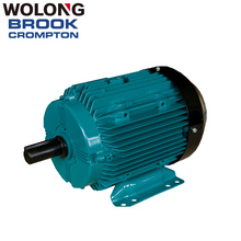 BROOK 55kW 4p High Efficiency Asynchronous AC 3 phase electric motorWater Pump IE3 75 hp induction motor