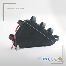 High quality e-bike triangle battery 36v 14ah li-ion battery pack with charger