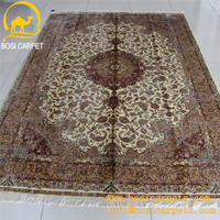 6x9ft red flower carpet design handmade hand knotted silk home textile lowes carpet prices mosque silk shaggy carpet