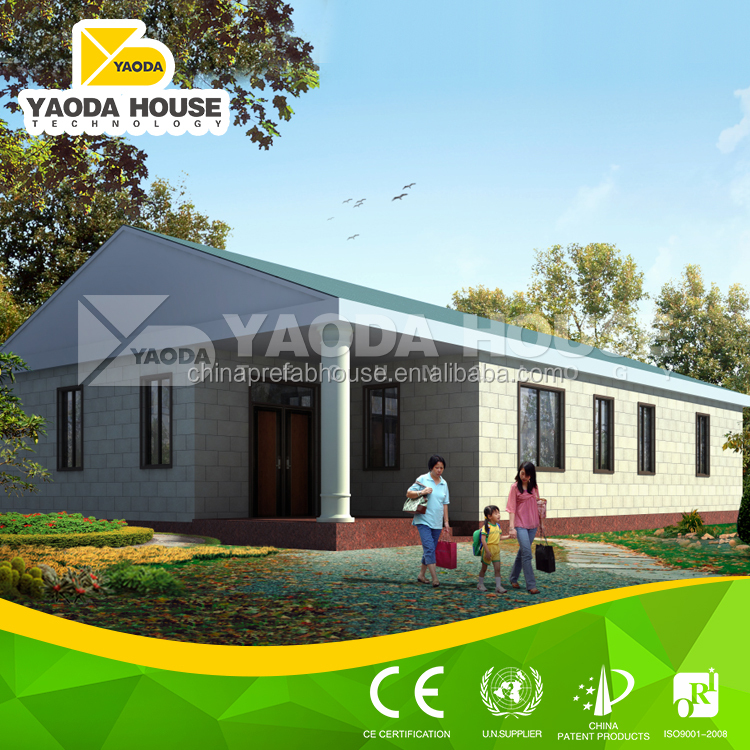 Good quality prefab small villa design