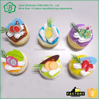 Newest sale simple design simulation food model from China