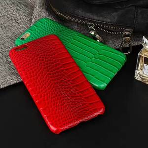 In Stock Leather Wrapped Phone Cover for iPhone Phone Case with Microfiber