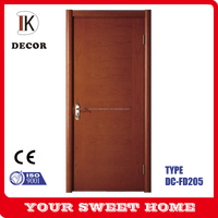 Trade Assurance China plain solid wood doors flush doors